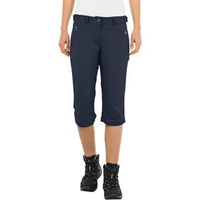 VAUDE Farley Stretch Pantalone Capri II Donna, blu